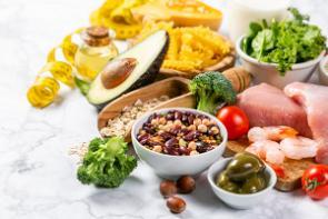 como se ve una dieta saludable