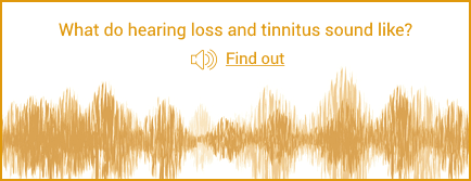 What do hearing loss and tinnitus sound like?